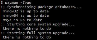 Getting GNU compilers on Windows (MSYS2/MinGW-x64/boost